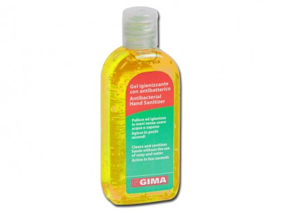 ANTIBACTERIAL GEL - tube 85 ml - yellow - lemon