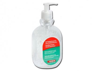 ANTIBACTERIAL GEL - bottle  500 ml - transparent