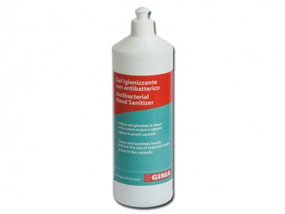 ANTIBACTERIAL GEL - bottle 1 l - transparent